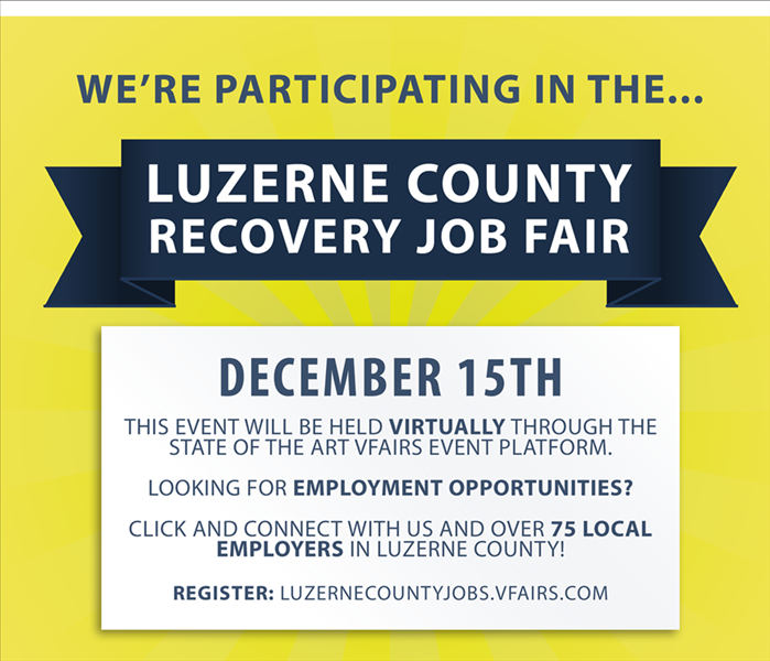 Luzerne County Recovery Job Fair Details