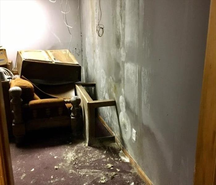Water and Mold Damage - Commercial Retail Building, Exeter, PA
