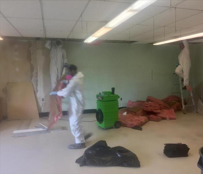 Mold Remediation Project at a local Elementary School