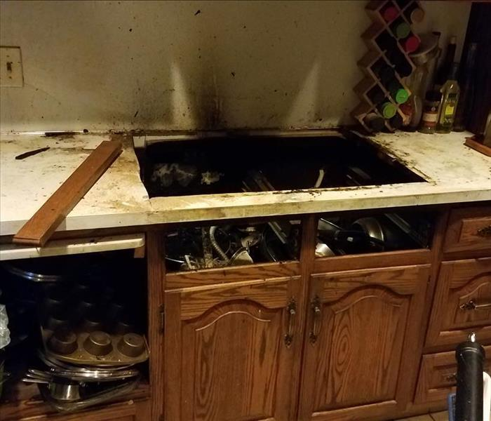 Home Kitchen Fire