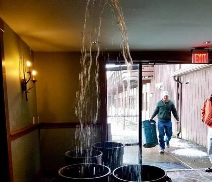 Frozen Sprinkler Pipe Burst in Wyoming County, PA