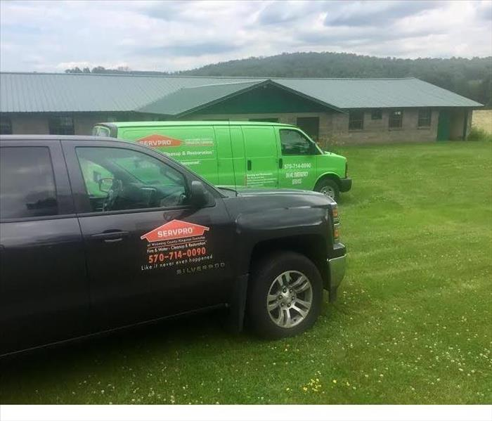 Biohazard Cleanup at a Barn in Tunkhannock, PA