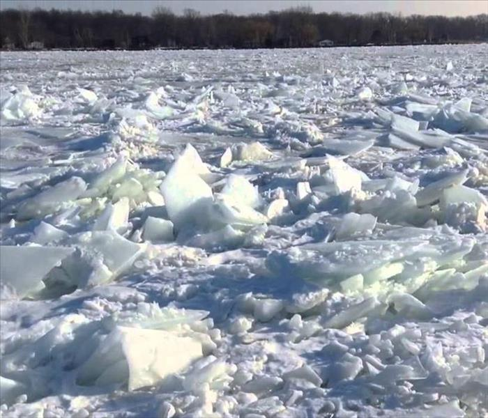 Storm Damage Ice Jams causing Flooding in your Avoca or Duryea property?