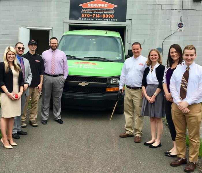 General SERVPRO of Wyoming County/Kingston Township Celebrates 1 Year of Service
