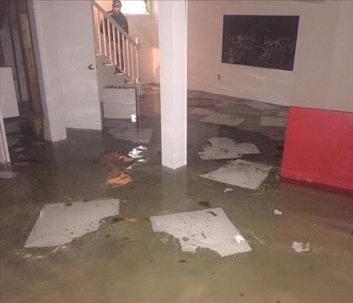 Storm Damage Flooded Basement in Wilkes-Barre, PA?